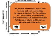 Afbeelding - Cliffhanger voor de Carrot Game het spel wat je kijk op het trainen van paarden voorgoed verandert - ClickerCoach
